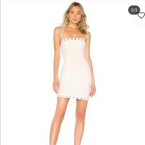 White mini dress!